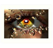 Seeing Eye to Eye Art Print