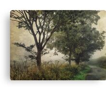 Walking to Hellington Hill Canvas Print