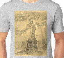 Vintage Statue Of Liberty #2 Unisex T-Shirt