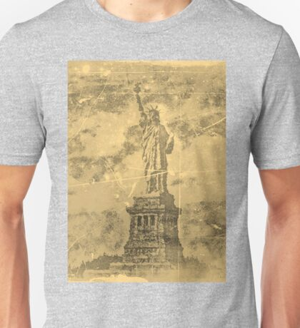 Vintage Statue Of Liberty #2 Unisex T-Shirt