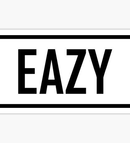 EAZY Sticker