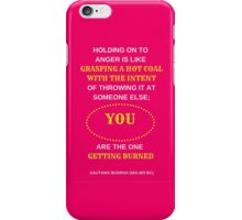 Anger in Pink iPhone Case/Skin