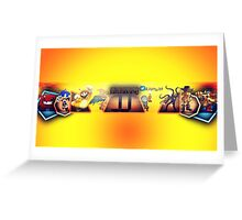Jamyjet Gaming Youtube Channel Official Print Greeting Card