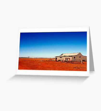 Outback Shack Greeting Card