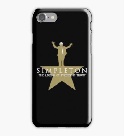 Trump Hamilton Spoof  iPhone Case/Skin