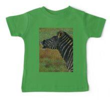 Snorting Zebra - Coloured Pencil Baby Tee