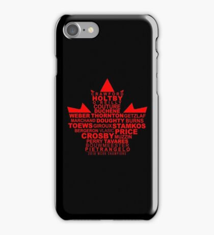 WCOH Team Canada iPhone Case/Skin