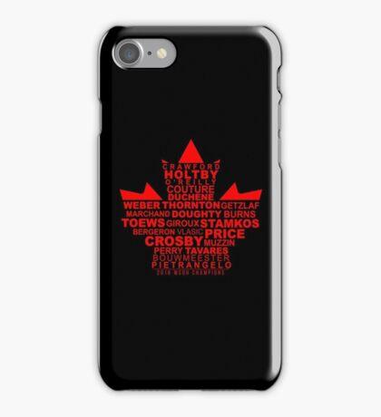 WCOH Team Canada iPhone Case/Skin