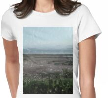 Sandy Bay Womens Fitted T-Shirt