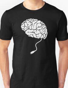 USB Brain Unplugged T Shirt Unisex T-Shirt