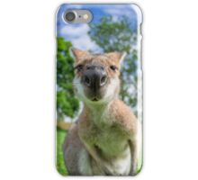 Inquisitive Kangaroo iPhone Case/Skin