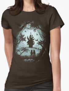 Dark Crystal Dreams Womens Fitted T-Shirt