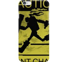 Never Chased Singed iPhone Case/Skin