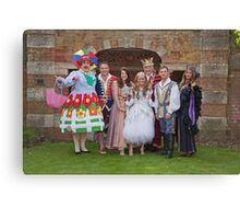 The cast of Sleeping Beauty Canvas Print