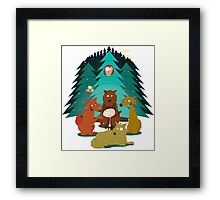 Rudy & the Wolves Framed Print