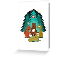 Rudy & the Wolves Greeting Card