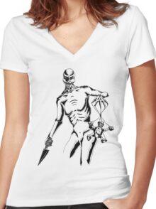 Puppet Master Women's Fitted V-Neck T-Shirt