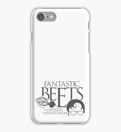 Fantastic BEETS and Where to Find Them iPhone Case/Skin