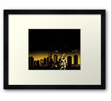 The Legend of the PJ Boston Cow Framed Print