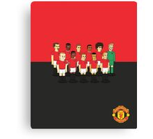 Manchester United as simpson Canvas Print