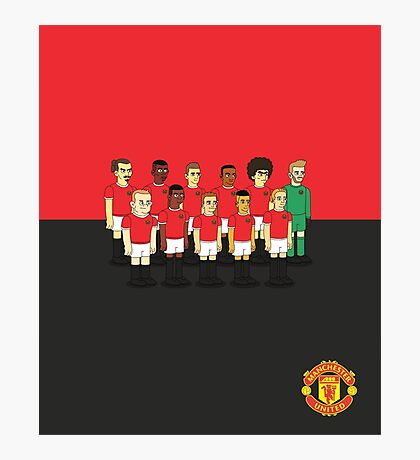 Manchester United as simpson Photographic Print