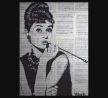 old book drawing famous people Audrey Kids Clothes