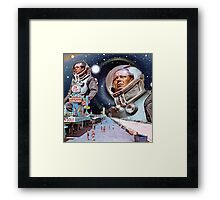 Bored Walk Framed Print