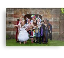 The cast of Sleeping Beauty Metal Print