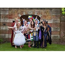 The cast of Sleeping Beauty Photographic Print