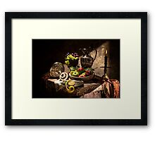 Fruits by Window Light Framed Print
