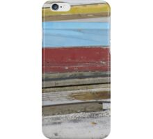 Boat hulls iPhone Case/Skin