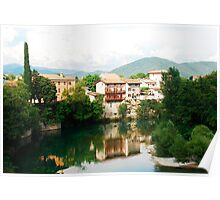 Cividale Waterfront Poster