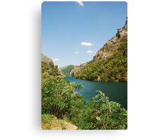 River Neretva Near Jablanica Canvas Print