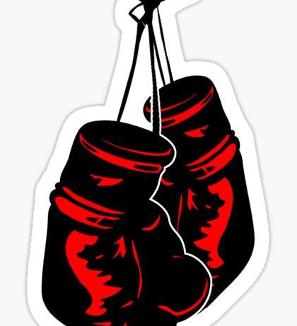 Boxing Gloves Kickboxing Gear Sticker