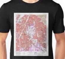 USGS TOPO Map California CA Whittier 301367 1965 24000 geo Unisex T-Shirt