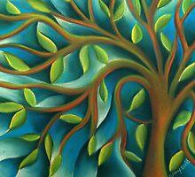 Spring Tree of Life by Tiffany Budd