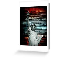 Believe In Liberty Greeting Card
