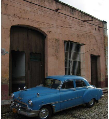 Cuba - Old Timer Car Sticker