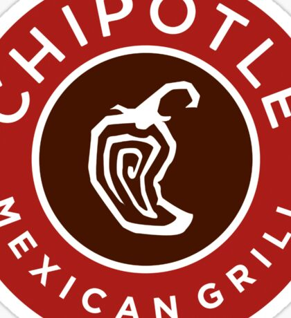 Chipotle Logo Sticker