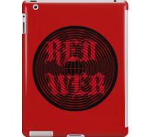 RED WEB iPad Case/Skin
