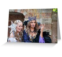 Sonia and Zoe Birkett in Sleeping Beauty Greeting Card