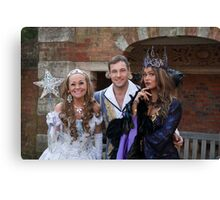 Sonia, Marc Baylis and Zoe Birkett in Sleeping Beauty Canvas Print