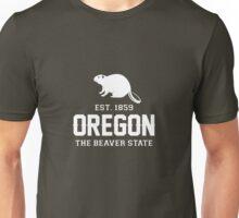 Oregon The Beaver State Est. 1859 Unisex T-Shirt