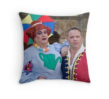 Bobby Crush and Jamie Rickers in Sleeping Beauty Throw Pillow