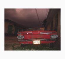 Red Chevrolet - Cuba Vintage Car T-Shirt Kids Tee