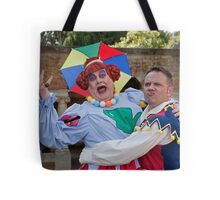 Bobby Crush and Jamie Rickers in Sleeping Beauty Tote Bag