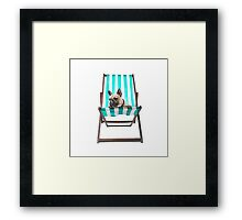 Pampered Pooch Framed Print