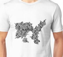 Altis Word Collage - Strayagaming Unisex T-Shirt