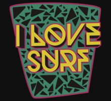 i love surf Kids Clothes