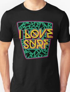 i love surf Unisex T-Shirt